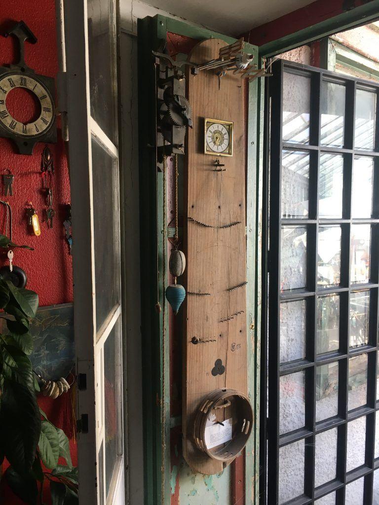 Tabla de planchar desde la veranda